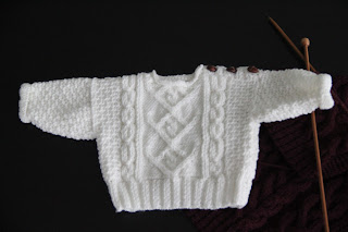 baby fisherman sweater