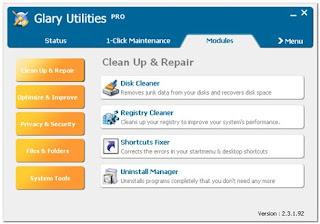 Cara Maintenance System Windows Menggunakan Glary Utilities Pro