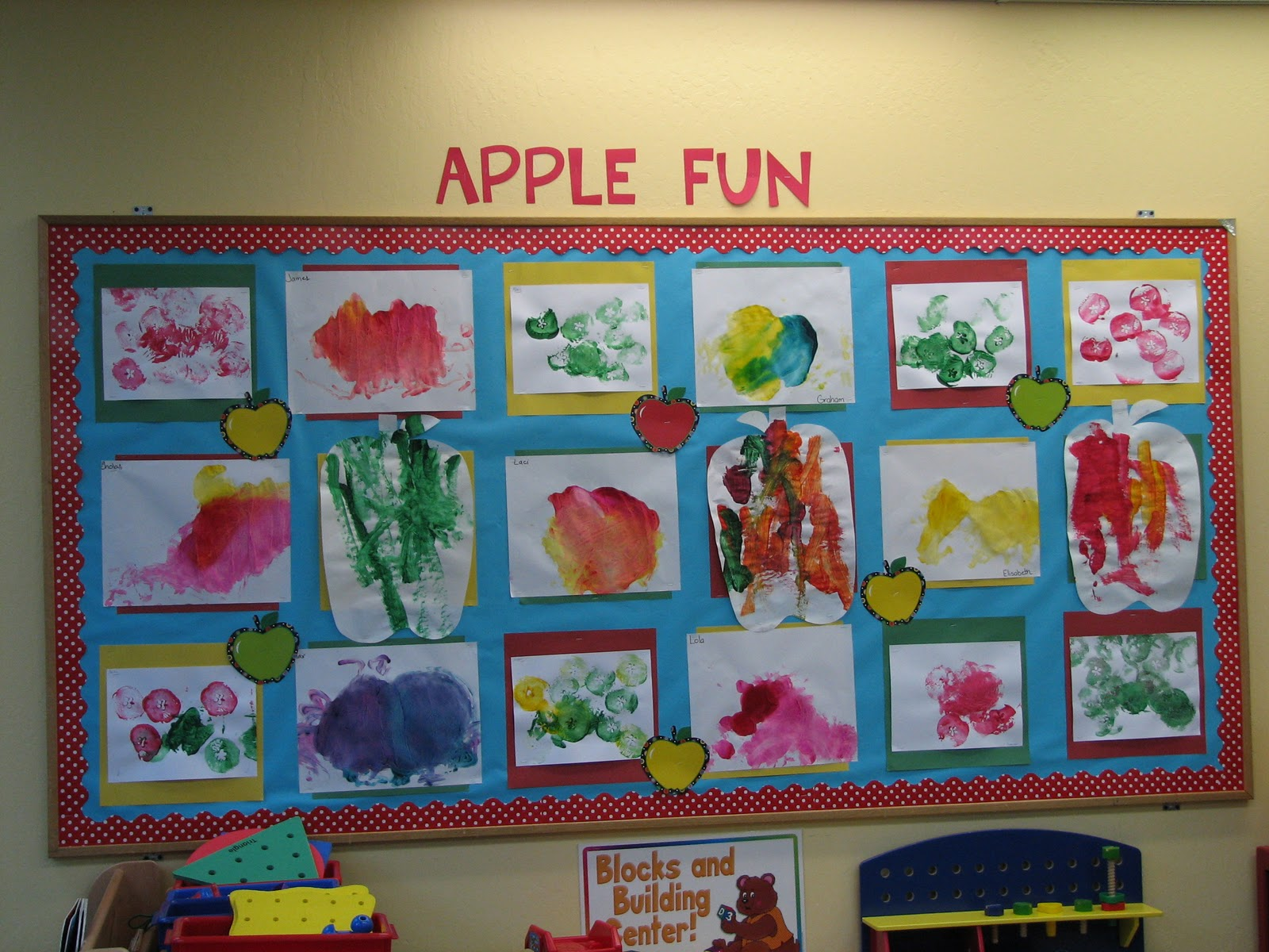 Classroom Ideas For 1 Year Olds : Preschool ideas for year olds apples