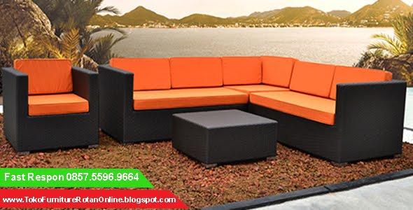 Sofa Tamu Dari Rotan, Sofa Rotan, Sofa Rotan Minimalis, Sofa Rotan Murah