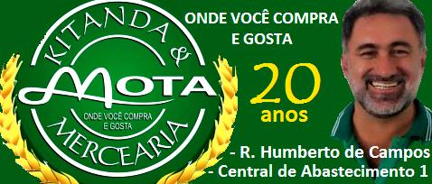 KITANDA E MERCEARIA MOTA - Direção MIRALDO MOTA