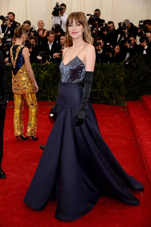 dakota johnson fashion, jason wu, met gala 2014 best dressed