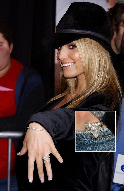 fashion mania celebrity engagement rings