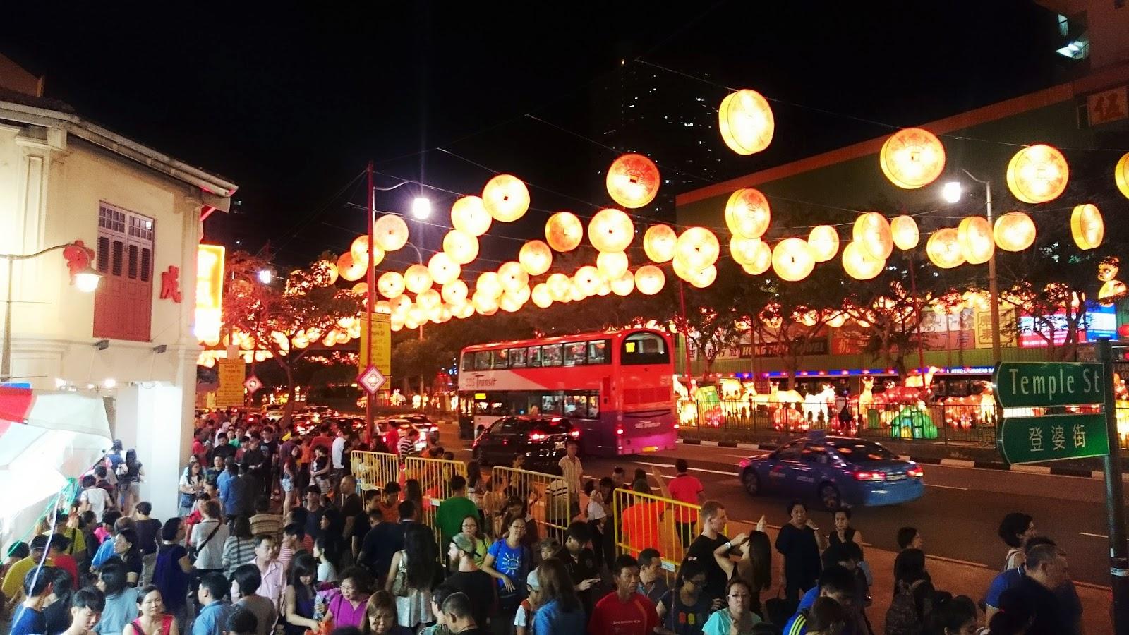CNY chinatown Singapore