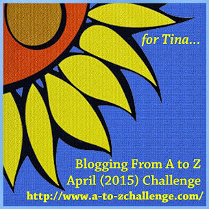 2015 April A to Z Blogging Challenge