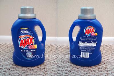 Ajax liquid detergent
