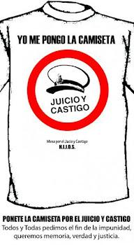 ¡Ponete la Camiseta por el Juicio y Castigo a los Genocidas!