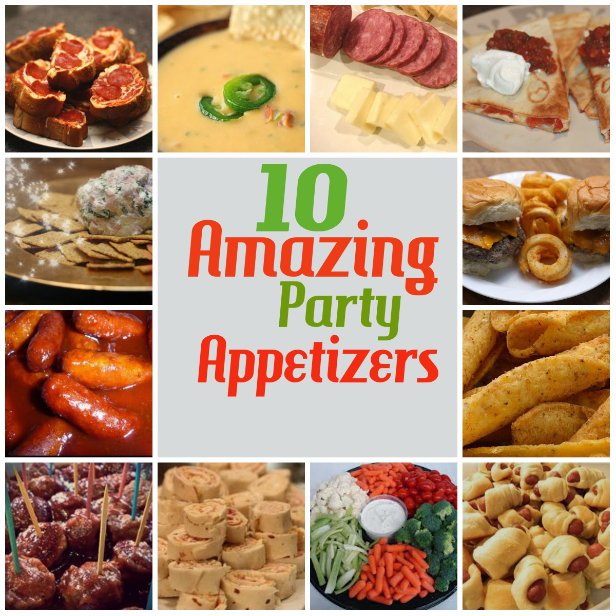 12 Days Of Christmas Party Ideas Part - 32: 12 Days Of Christmas, Day 11: Amazing Party Appetizers