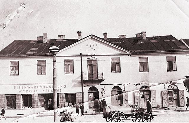 Końskie, getto, ul. 3 Maja 24. Fotografię udostępnił Mateusz Partyka