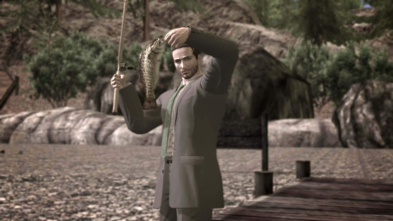 Deadly Premonition PC better graphic neh