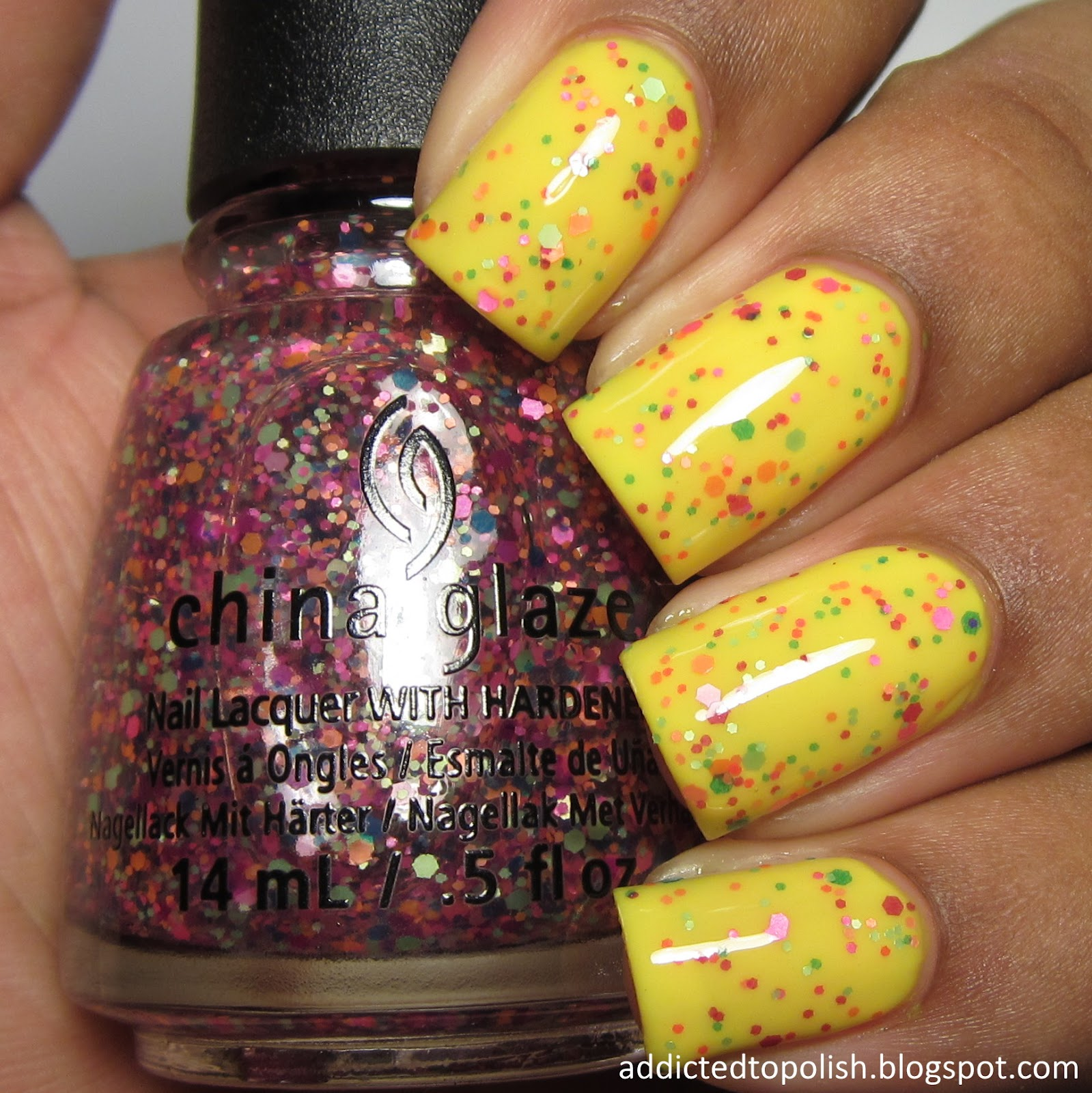 china glaze point me to the party summer 2015 electric nights
