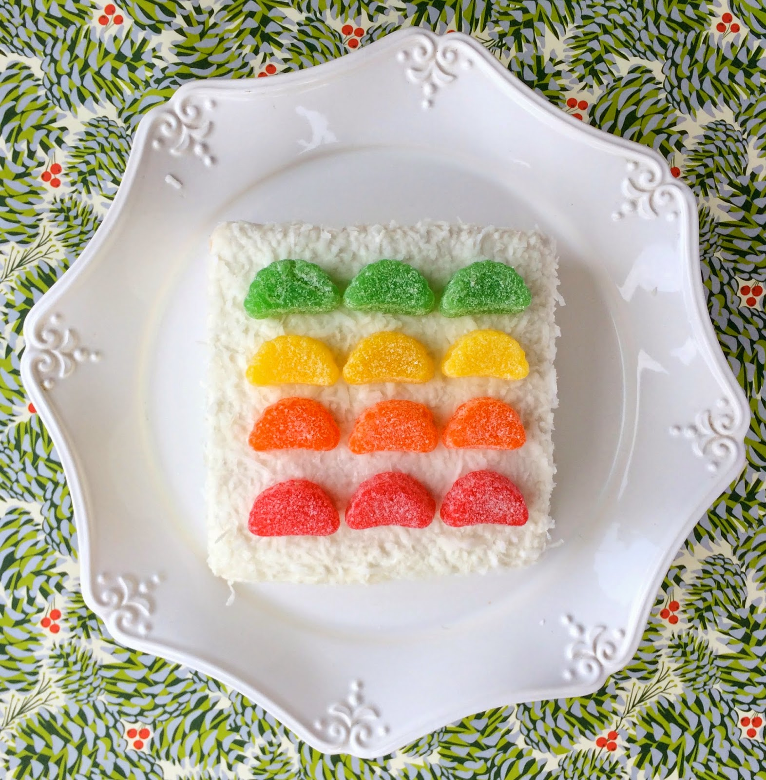 Colourful Fruit Cake: Jac O' Lyn Murphy: Let Them Eat Fruitcake