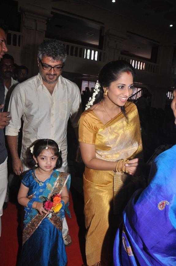 Actor Ajith Shalini Marriage