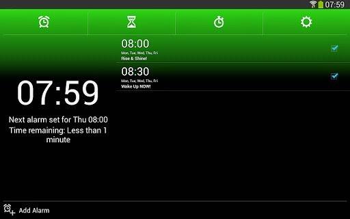 برنامج المنبه بالتايمر للاندرويد - Alarm Clock Xtreme APK