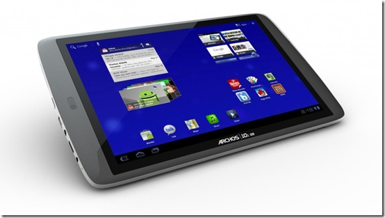 G9 Tablet Archos 3rd generation of Android