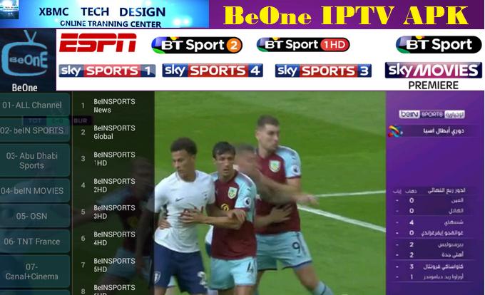 Download BeOne TV LiveTV FREE (Live) Stream Update (Pro) IPTV Apk
