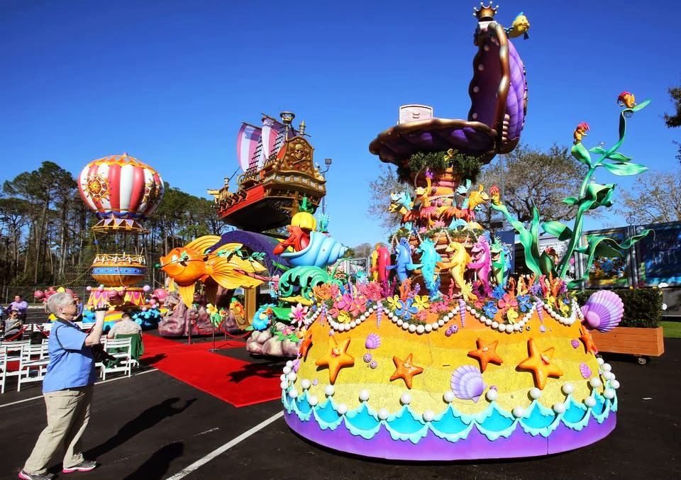 Disney Festival of Fantasy Parade em Orlando