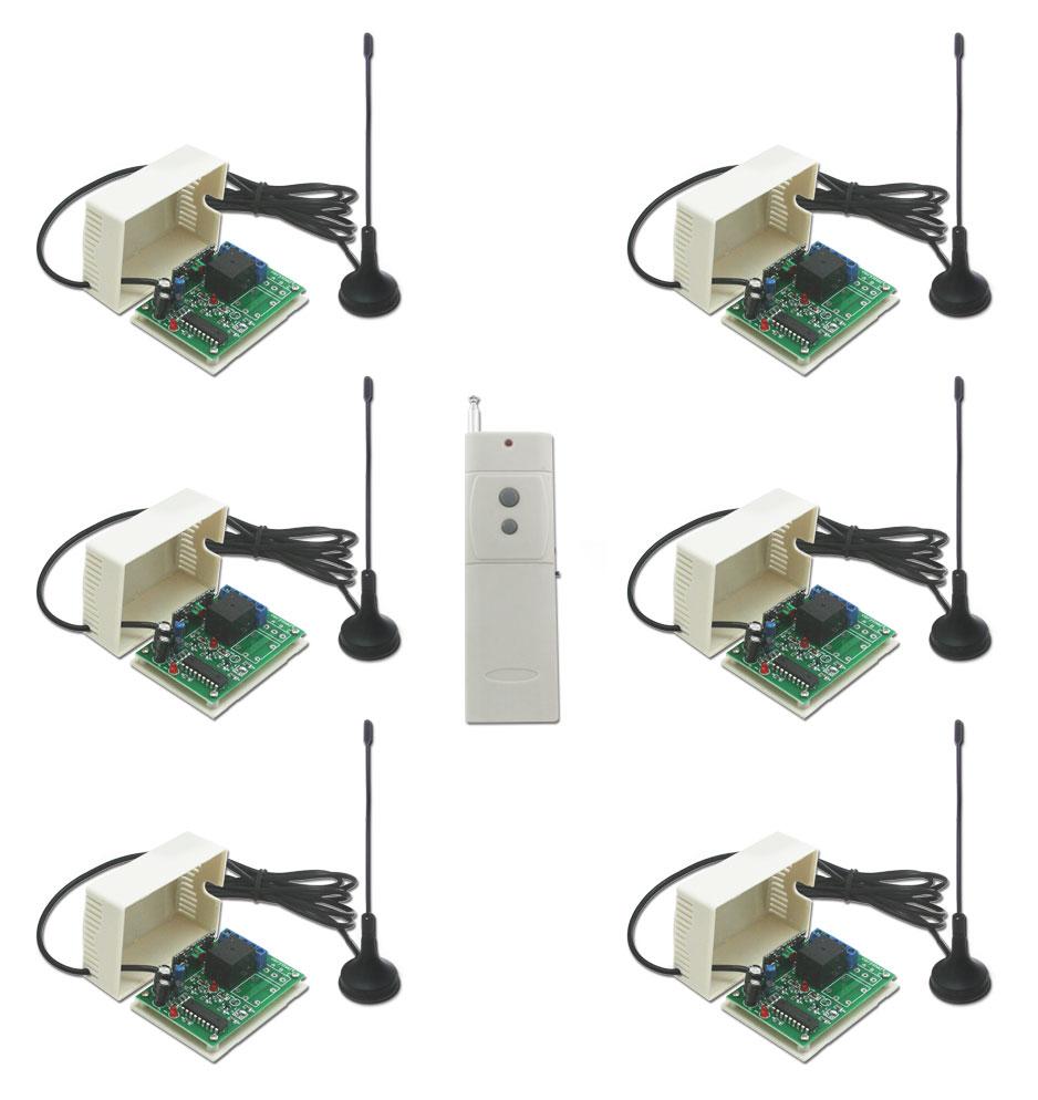 Uitiliser un kit commande radio avec t l commande sans fil - Comment ouvrir une porte avec une radio ...