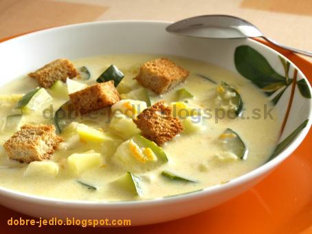 Cuketovo-zemiaková polievka - recepty