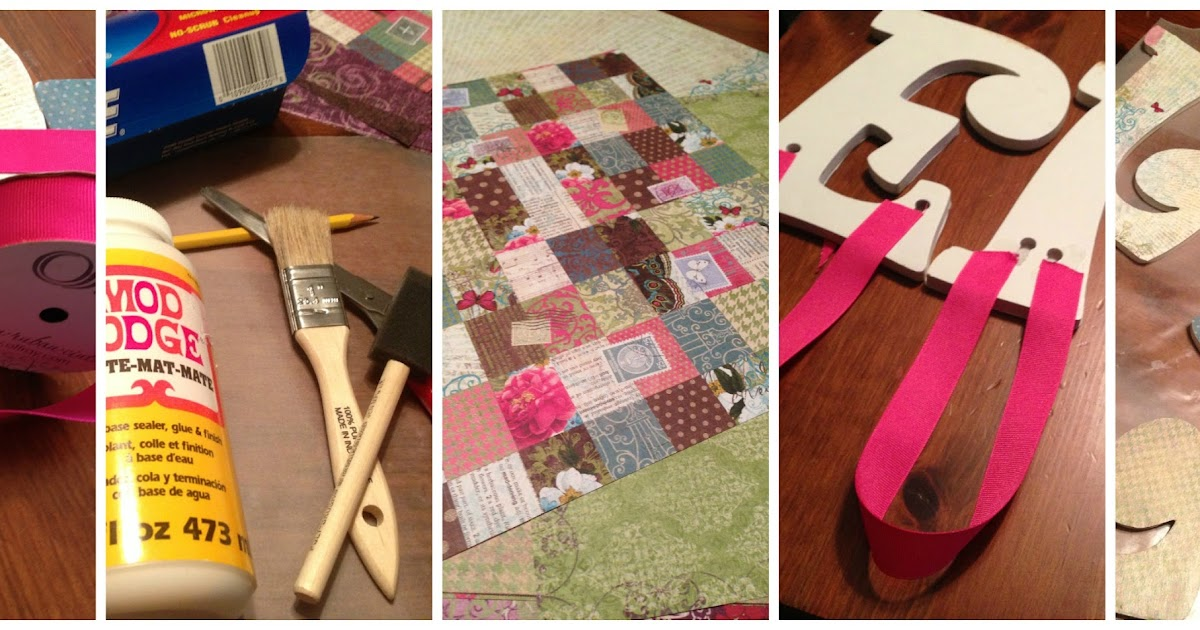 four front doors decoupage letters as easy as a b c