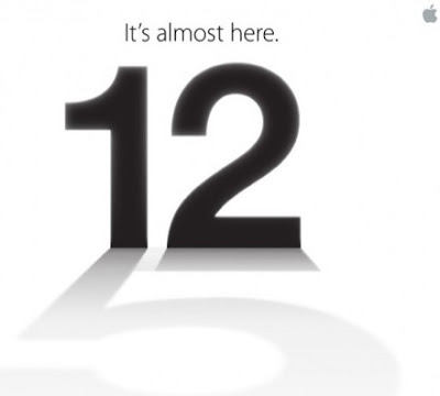 12 September start iPhone 5
