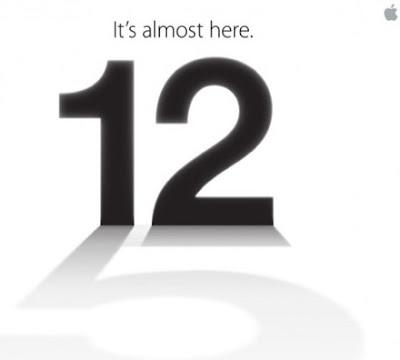 12 September start iPhone 5