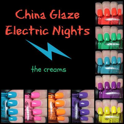 china glaze electric nights