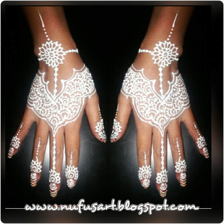 White Henna Body Painting Nufus Art Face Painting Henna Body