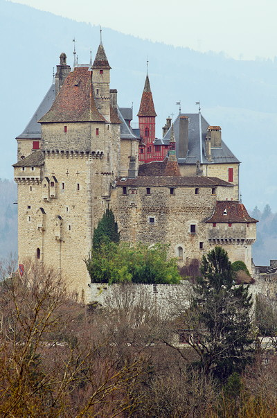 Photograph of Menthon Saint Bernard Castle in France