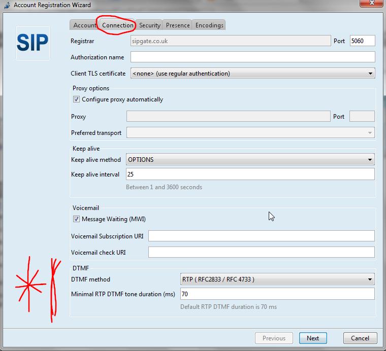 DadHacker: Jitsi VOIP Client DTMF Settings
