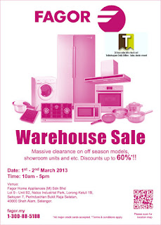 FAGOR Warehouse Sale 2013