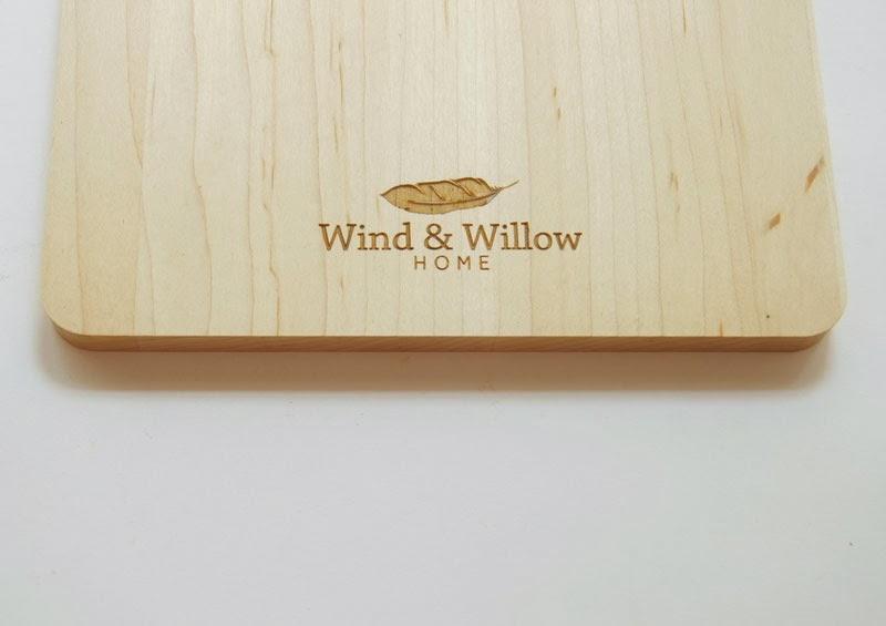 cuencos de madera de Wind and Willow