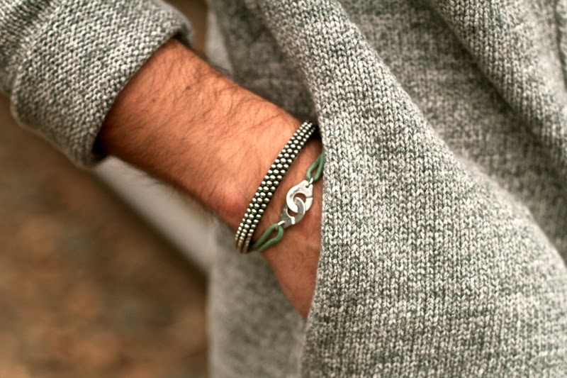 TiSento Silver luxury silver bangle dinhvan Blog mode homme mensfashion