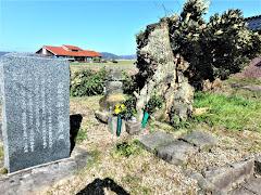 南条元秋の墓(鳥取県湯梨浜町長和田)