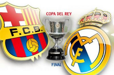 final Copa del Rey FC Barcelona vs Real Madrid 2011
