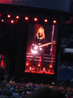 madonna guitar edinburgh scotland mdna
