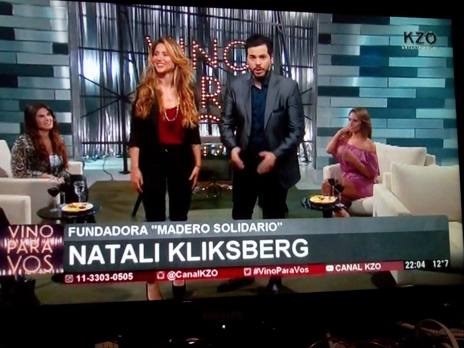 REPORTAJE A NATALI EN TV