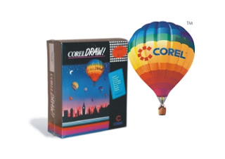 Sejarah CorelDRAW - CorelDRAW Versi 1.0 (1988)