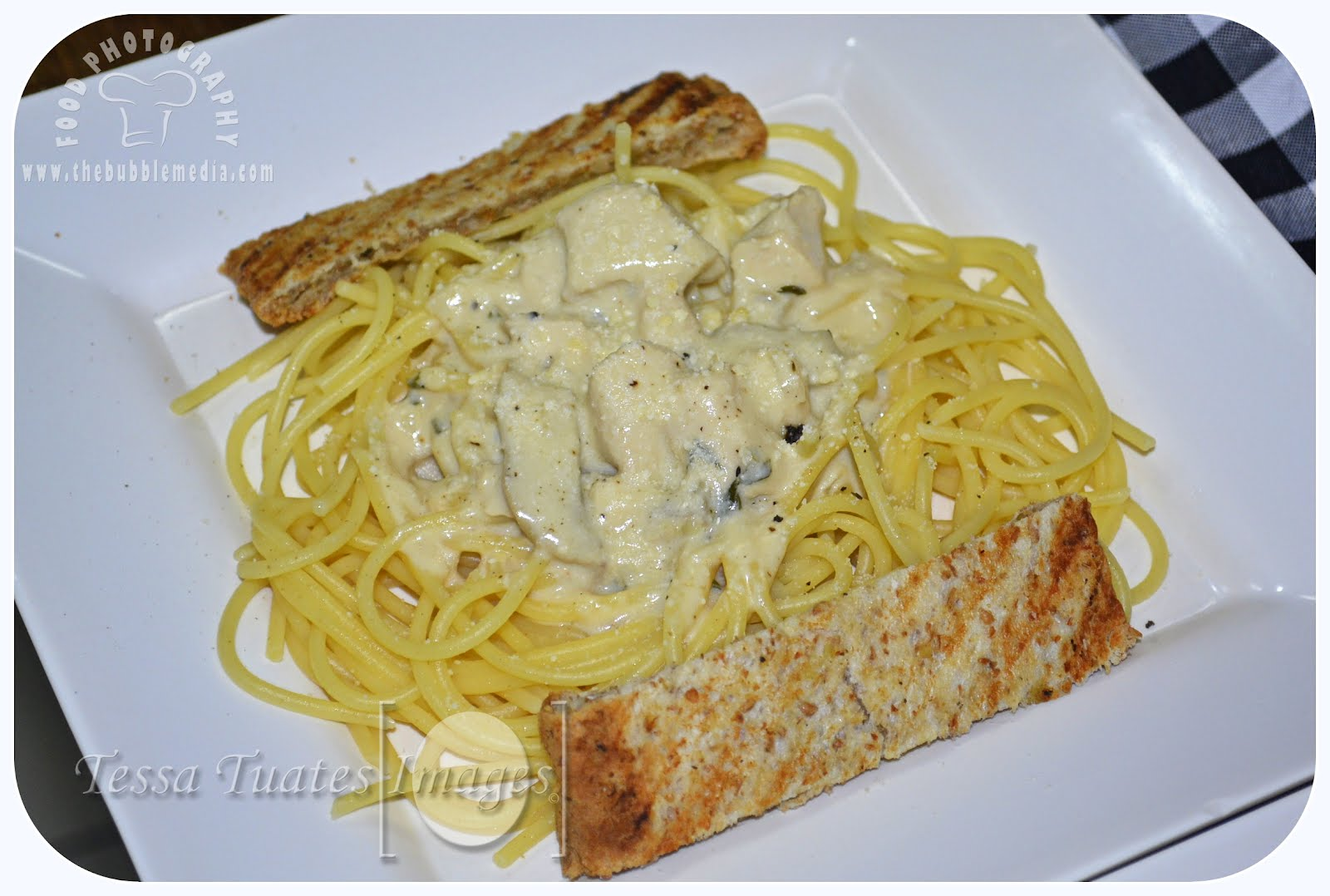Chicken Alfredo http://www.thebubblemedia.com
