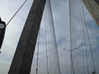 Kemegahan Jembatan Suromadu Dari Kamera Pocket