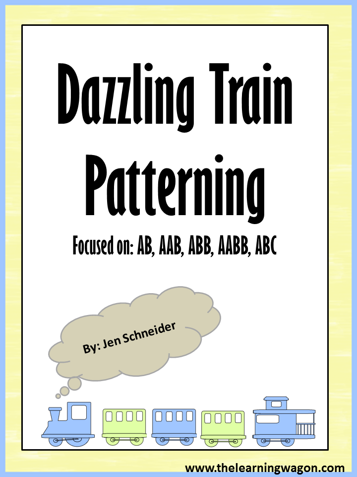 http://www.teacherspayteachers.com/Product/Train-Patterning-1186267