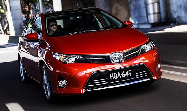 Bảng giá xe Toyota 2013