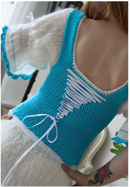 baksiden av kjolen