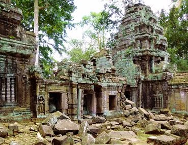 Angkor Thom Temple Ruine