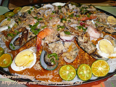 Palabok, Seafood Overload