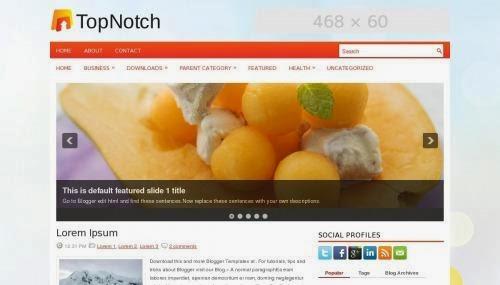 CSS style blogger template   Lush web
