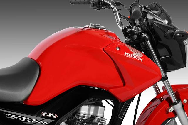 Honda CG 125 Fan ES 2014 - Vermelha