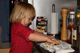 halloween baking rolling