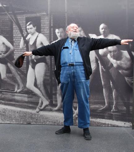 Michel Butor au musée de la piscine de Roubaix