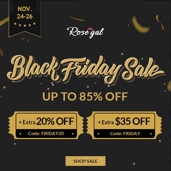 Rosegal | Black Friday